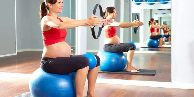 Ejercicios deportes embarazo embarazadas